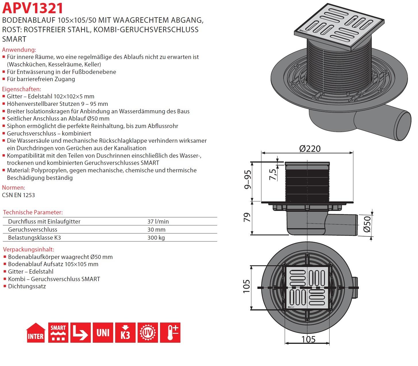 bodenablauf duschablauf badablauf edelstahl duschrinne dusche extra flach dusche 8595580518462. Black Bedroom Furniture Sets. Home Design Ideas