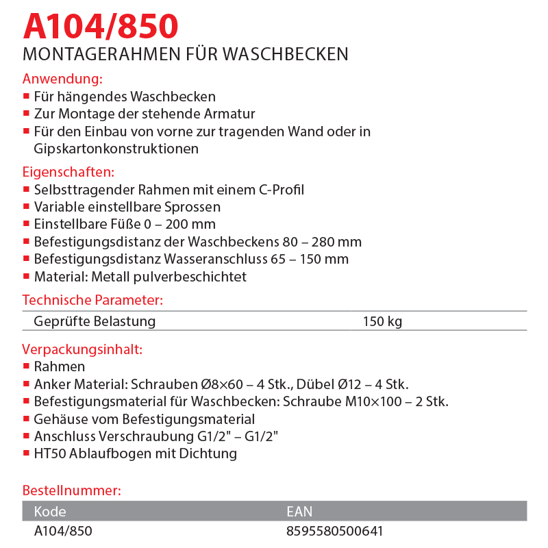 A104/850