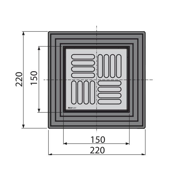 bodenablauf senkrecht duschablauf badablauf edelstahl begehbare dusche dn 150 50 ebay. Black Bedroom Furniture Sets. Home Design Ideas