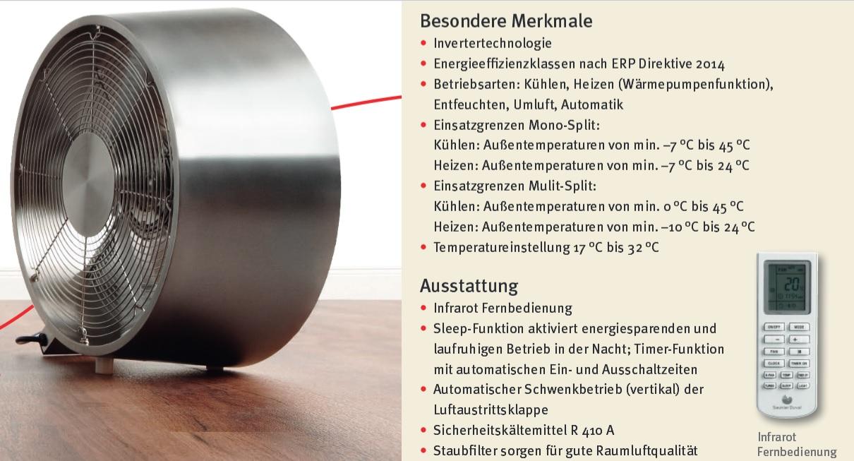 klimager t klimaanlage klima 2 7kw 230v k hlen heizen split anlage neu ebay. Black Bedroom Furniture Sets. Home Design Ideas