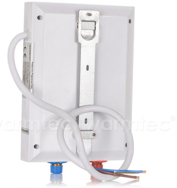 warmwasser durchlauferhitzer 6 8 kw 230v elektrisch dusche minishower 6 8. Black Bedroom Furniture Sets. Home Design Ideas